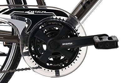 KS Cycling Herren Trekkingrad Norfolk RH 56 cm Flachlenker Fahrrad, Bronze, 28 Zoll