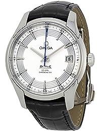Omega 431.33.41.21.02.001 - Reloj para hombres, correa de cuero