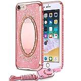iPhone 8 7 Case, VIUME Soft TPU Luxury G...