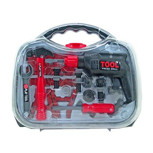 VARILANDO® Kinder-Bohrmaschinen-Set Kinder-Werkzeug Spielzeug