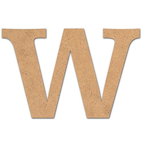 Canevas pour enfant Loisirs créatifs - Lettre en bois 10 cm w
