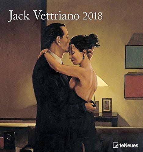 2018 Jack Vettriano Calendar - Wall Calendar- Art Calendar - 45 x 48 cm por teNeues Calendars & Stationery