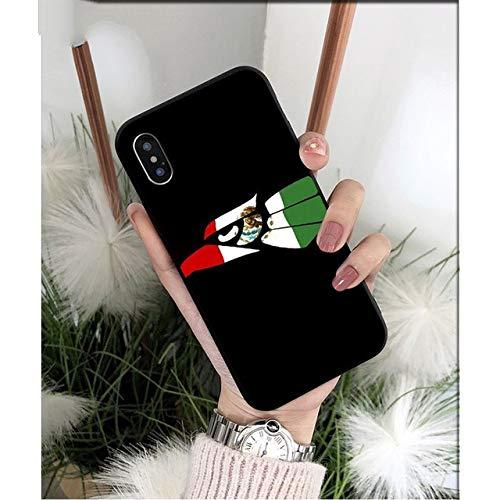 XiYon mexiko Flagge DIY high-end Schutz Fall für Apple iPhone 8 7 6 6 s Plus x xs max 5 5 s se xr handys, 7, für iPhone XS max