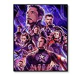Carré/Rond/Rond 5D Diamant DIY Peinture Avengers Infinite Warrior 5D Diamant DIY...