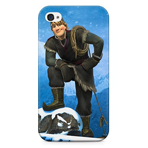 Frozen Kristoff Hard Plastic Snap Case Cover For Iphone 4 / 4s Custodia