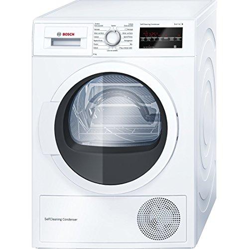 Bosch WTW85468IT Libera installazione Caricamento frontale 8kg A++ Bianco asciugatrice