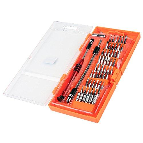 Set di Cacciaviti di Precisione 58 in 1, Kit con 54 punte magnetiche per Telefoni Cellulari, PC, Tablet e altre apparecchiature elettroniche