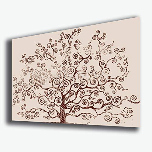 Quadro moderno ALBERO DELLA VITA arte moderna Style KLIMT beige STAMPA SU  TELA canvas Quadri Moderni Cucina Salotto Soggiorno Camera da letto ...