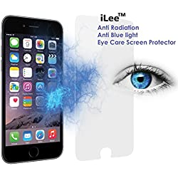 iLee Anti Radiation Eye Care Premium TEMPERED Glass Screen Protector For IPHONE 6 / 6S
