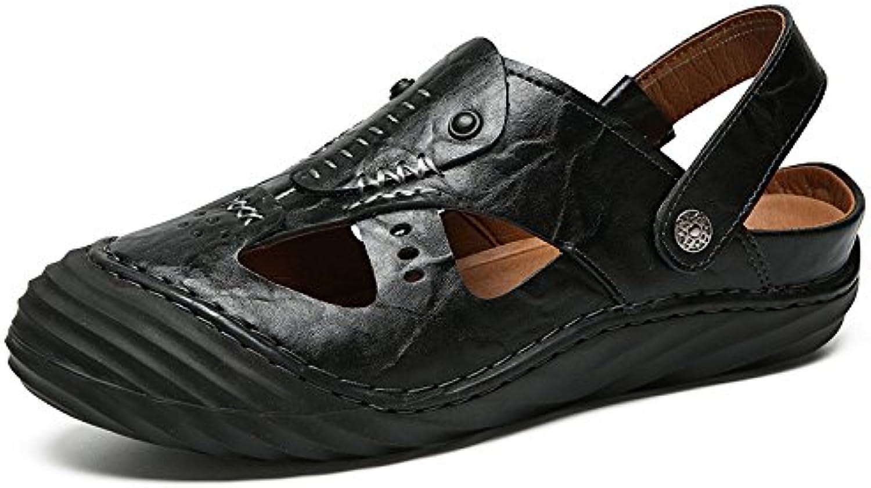 LEDLFIE Sandalen Casual Sandalen Fashion Beach Schuhe Black 41LEDLFIE Sandalen Casual Fashion Black 41 Billig und erschwinglich Im Verkauf