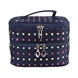 #4: Imported Women's Double-layer Toiletry Travel Wash Organizer Case Cosmetic Ma...-13006895MG