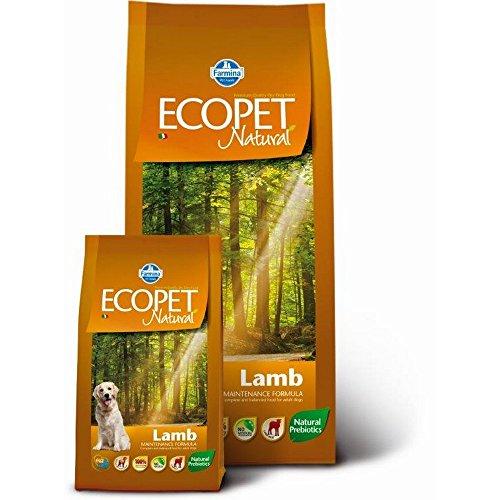 ECOPET NATURAL maxi Erwachsenen Hundetrocken kg Lamm 12 Hund Futter trocken