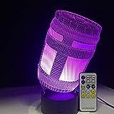 Rocket Launcher Standard Girl Skin Standard Skin Glider SCAR Chug Jug Dark Voyager Die Reaper 3D LED Lampe Home Decor