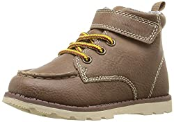 carters Boys TOPEKA2 Bootie, Light Brown, 5 M US Toddler