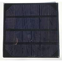 6V 2W Mini Solar Panel for Small Solar System Solar Cells 115 * 115 * 3mm MCPT