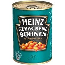 Heinz Baked Beans in Tomatensauce, 6er Pack (6 x 415 g Dose)