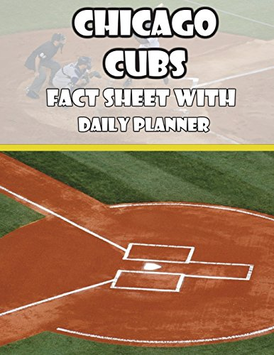 Chicago Cubs Fact Sheets with Daily Planner