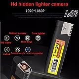 1080P HD Spy Versteckte Spion Kamera Leichter Elektronisches Feuerzeug DVR Bewegung Tragbare Mini DV ohne Objektiv Recordern ohne Löcher@Laing-H Vergleich