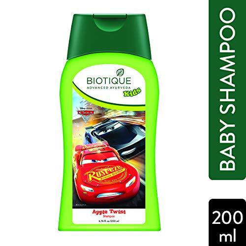 Biotique Bio Disney Pixar Cars Shampoo, Apple Twist, 200ml