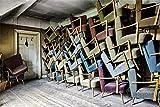 GzHQ 5x3ft Shabby Sofa Warehouse Fotografia Sfondo Fabbrica Ripostiglio Seminterrato Ripostiglio Foto Sfondo Adulti Bambini Ragazzi Studio Puntelli