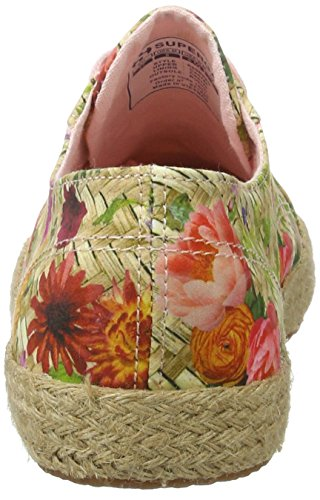 Superga Damen 2750 Fabricfanplropew Sneakers Mehrfarbig (weaving natural)