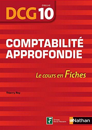 Comptabilité approfondie - DCG 10 - fiches