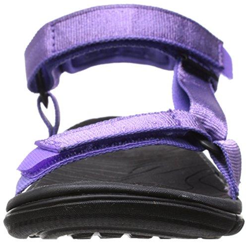 Teva C Hurricane 3, Sandales de Randonnée Fille Violet (Pmtl)