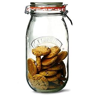 Kilner Round Clip Top Jars 2ltr - Case of 6 | Kilner Preservation Jars, Kilner Storage Jars, Kilner Jam Jars with Cliptop Lid