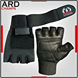 Leather Weight Lifting Gloves Long Wrist Wrap Gloves - Best Reviews Guide