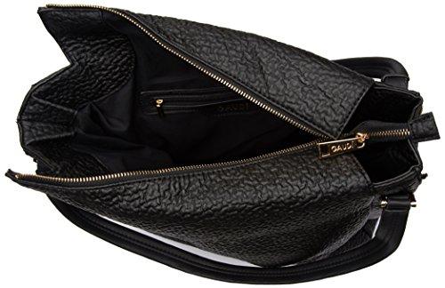 Gaudì Shopping-Linea Allison-cm. 35 x 35 x 16, Borsa a Mano Donna, 35 x 35 x 16 cm (W x H x L) Nero (Black)