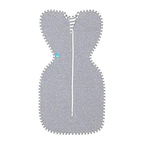 Covermason Schlafsack, Neugeborenes Säugling Baby Decke Schlafsack Reißverschluss Wickeln (M, Grau)