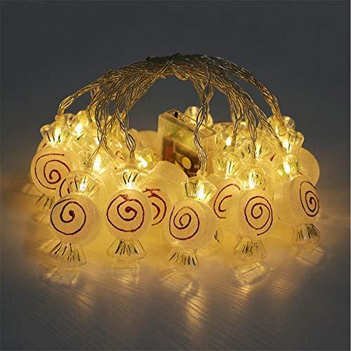 Candy Lichterketten Xmas Led Fairy Light, Tree Decor Lampe Geeignet Für Schlafzimmer Wohnzimmer Weihnachtsbaum Hochzeit Garten Party Indoor Und Outdoor -