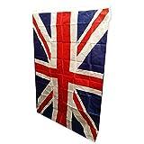 Union Großbritannien Flagge. eine tolle, groß, Union-Jack-Design, Souvenir, Größe: 0.91 meters von 1.52 meters (91 cm x 152 cm), langlebig, für den Innenbereich und Außenbereich, Diese Flagge ist perfekt für jeden Anlass. Startet das britische Pride heute unter der Flagge!
