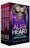 Alien Romance Box Set: Alien Heart Complete Series (Books 1-4): A SciFi (Science Fiction) Alien Warrior Abduction Invasion Romance Box Set