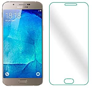 Samsung Galaxy A8 Tempered Glass screen protector by Gursid - Premium 2.5D curved ARC edge