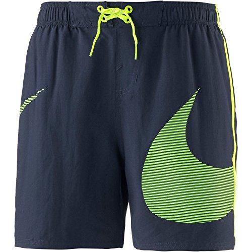 Nike Baño Nike Bad ness8440489Shorts, unisex erwachsene XL Grau (obsidian)