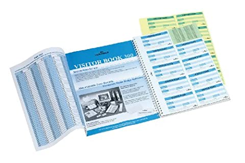 Durable 146600 Visitor Book 300 Refill, 300 Perforated 90 x