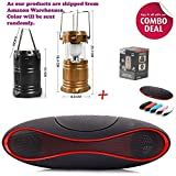 Xforia Combo pack OF Solar lamp with Bluetooth Speaker