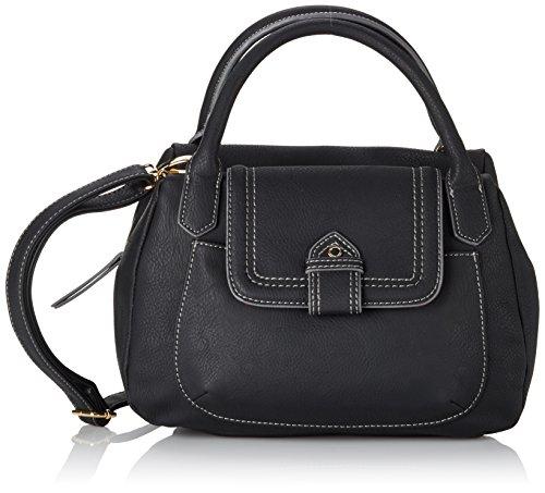 Tamaris ISABEL Handbag 1235152-001 Damen Henkeltaschen 28x19x15 cm (B x H x T), Schwarz (black)