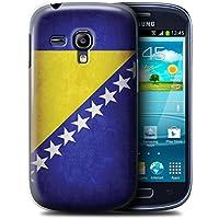 Stuff4 Hülle / Case für Samsung Galaxy S3 Mini / Bosnien und Herzegowina Muster / Flagge Kollektion