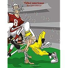 Fútbol americano libro para colorear 1: Volume 1