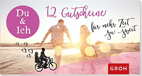 Gutscheinbuch Du & Ich – 12 Gutscheine für mehr Zeit zu zweit