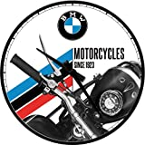 Nostalgic-Art 51067 BMW - Motorcycles Since 1923, Wanduhr 31cm