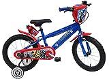 EDEN-BIKES Vélo 16' Garçon Transformers avec 2 Freins Caliper + Stabilisateurs