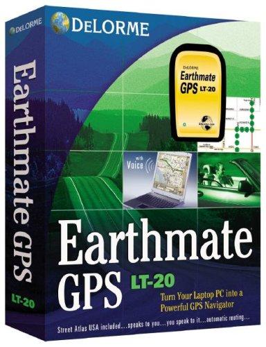 Earthmate GPS LT-20: With Street Atlas USA Software