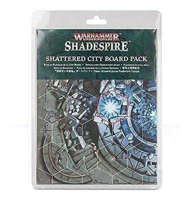 Warhammer Underworlds: Shadespire Shattered City Board Pack