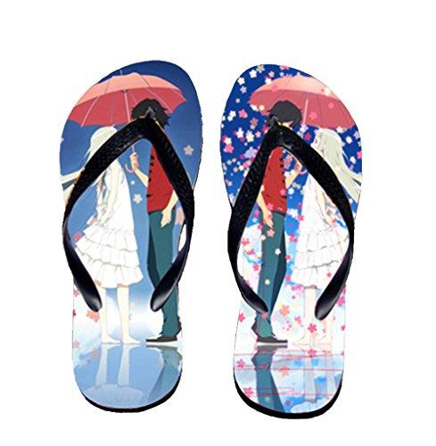 Bromeo AnoHana Anime Unisex Flip Flops Zehentrenner Flip Pantoffeln 678