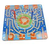hibote Magnet Puzzle Maze Kinder Holzspielzeug magnetischen Labyrinth Bildungs Spiele für Kinder - Der Ring