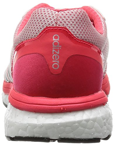 adidas Adizero Boston 5 Tsf W, Scarpe da Corsa Donna, Red Bianco / Nero / Rosso (Ftwbla / Negbas / Rojimp)