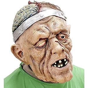 WIDMANN Sancto Neurocirugía Máscaras con el Pelo Partido Años Máscaras Máscaras de Ojo Diseño y Disfraces para Masquerade Disfraz de Accesorios